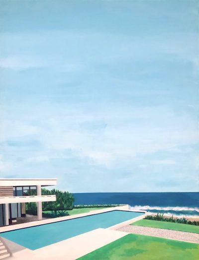 acrylique sur toile 116 x 89 cm