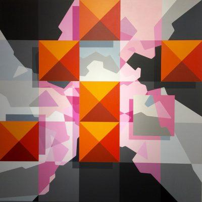 acrylique sur toile 100 x 80 cm