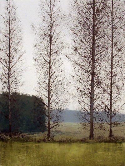 Huile sur toile - 195 x 130 cm