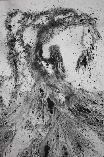 Acrylique sur toile - 162 x 114 cm