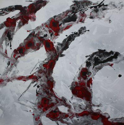 Acrylique sur toile - 60 x 60 cm