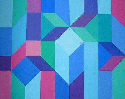 Acrylique sur toile - 50 x 75 cm