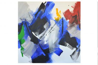 Acrylique sur toile - 100 x 100 cm