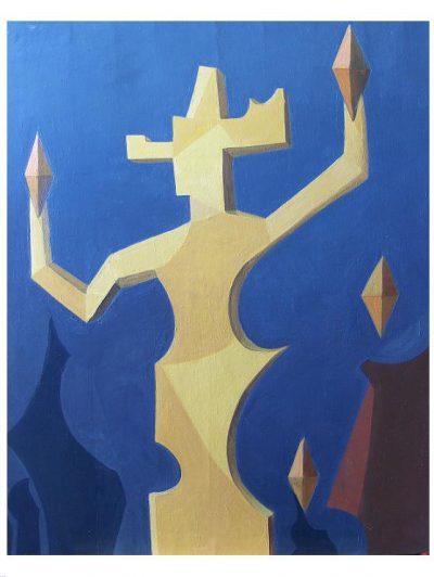 Huile sur toile - 1996 -100 x 81 cm