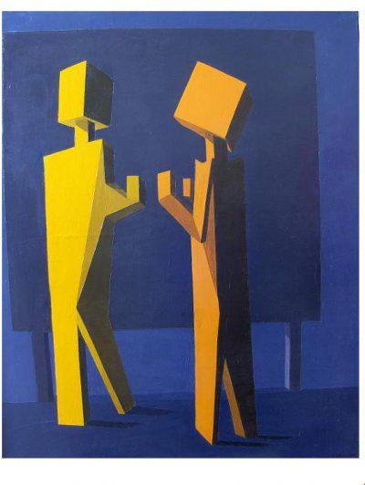 Huile sur toile - 1984 - 100 x 81 cm