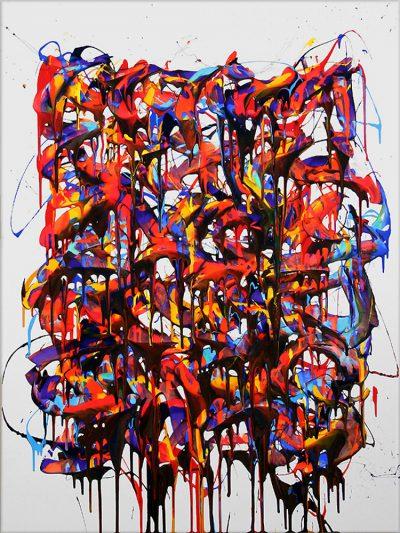 Acrylique sur toile - 134 x 97 cm