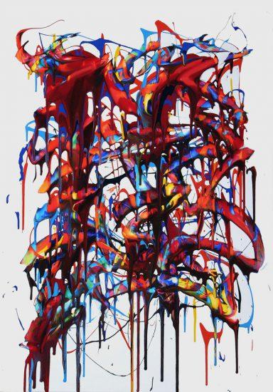 Acrylique sur toile - 116 x 81 cm