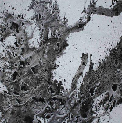 Acrylique sur toile - 80 x 80 cm