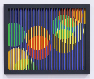 Acrylique sur acier découpé - 60x80 cm