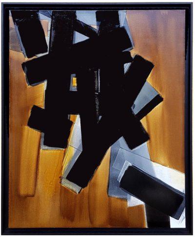 Huile sur toile - 80x60 cm