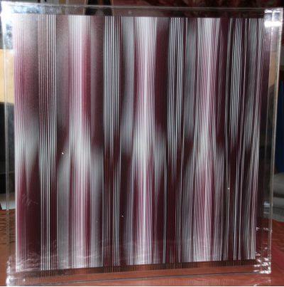 Peinture sur plexiglass - 60 x 60 cm