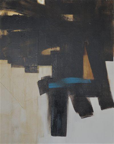 Huile sur toile - 92 x 74 cm