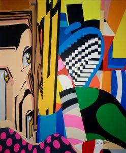 street-Art - acrylique sur toile 120x100 cm