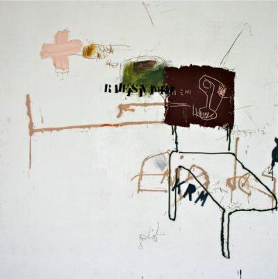 Acrylique et pochoir sur panneau - 125 x 122 cm