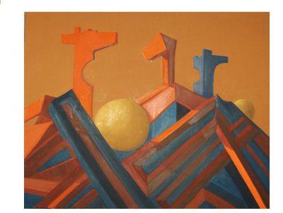 Huile sur toile - 1986 - 73 x 100 cm