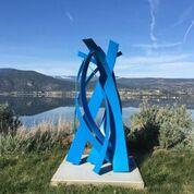sculpture extérieur thermolaqué 200 cm